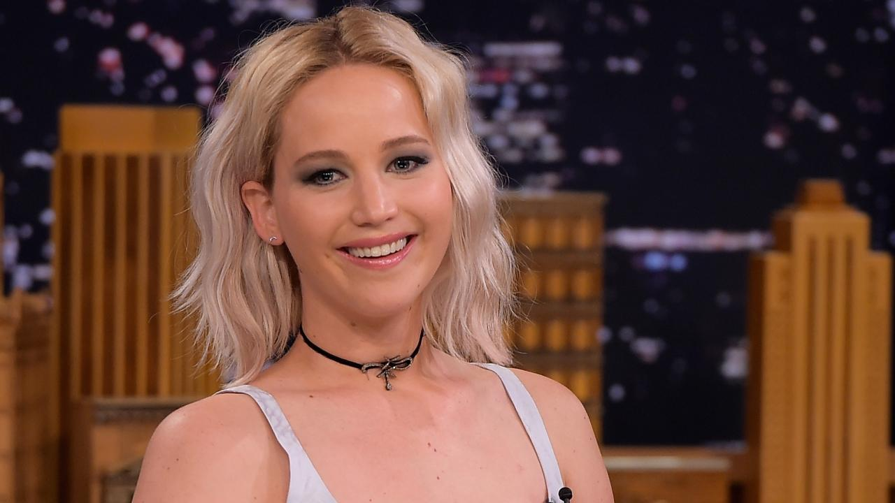 WATCH: Jennifer Lawrence Gets Snotty (Literally) on 'The Tonight Show'