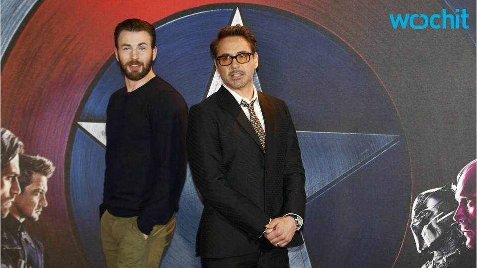 Robert Downey Jr. And Chris Evans Visit Cancer Patient