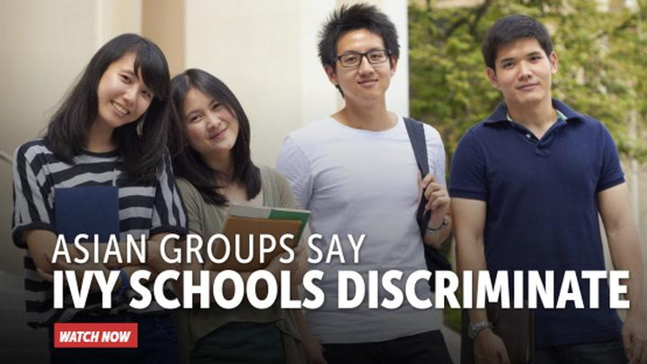 Asian Groups Say Ivy Schools Discriminate