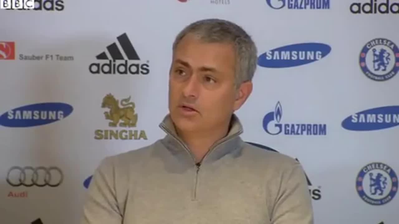 Jose Mourinho's Best Bits