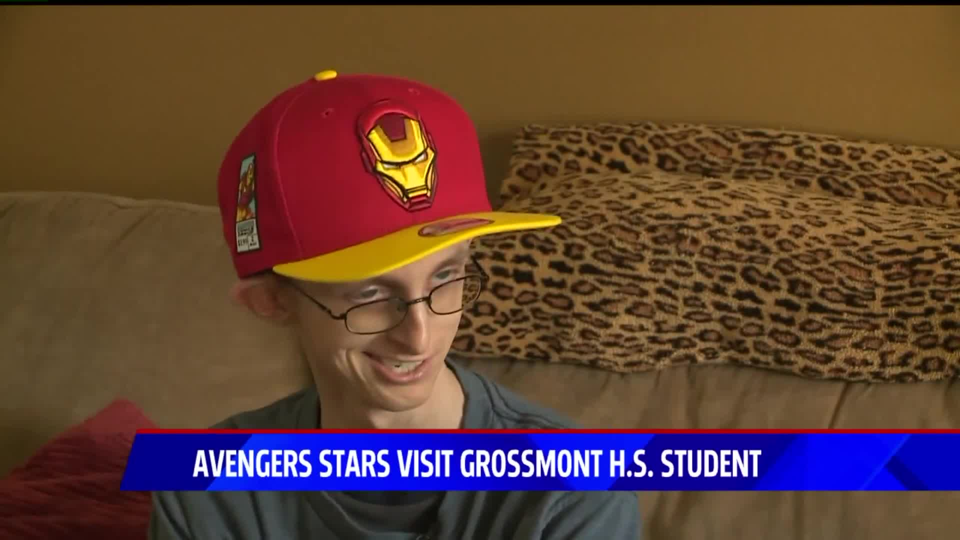 Avengers Stars Surprise Teen Battling Cancer