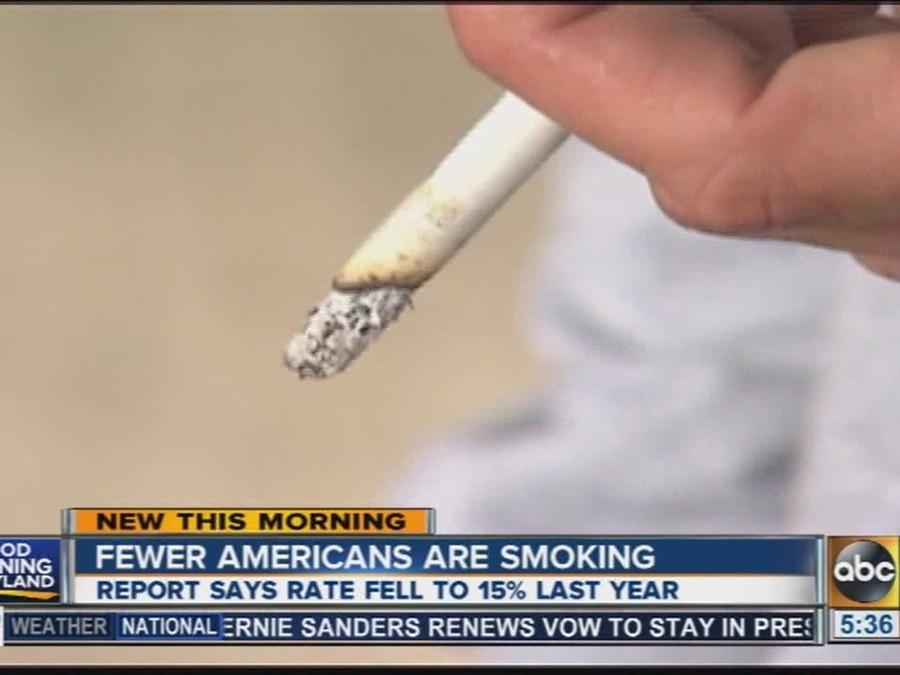 Report: Fewer Americans are smoking