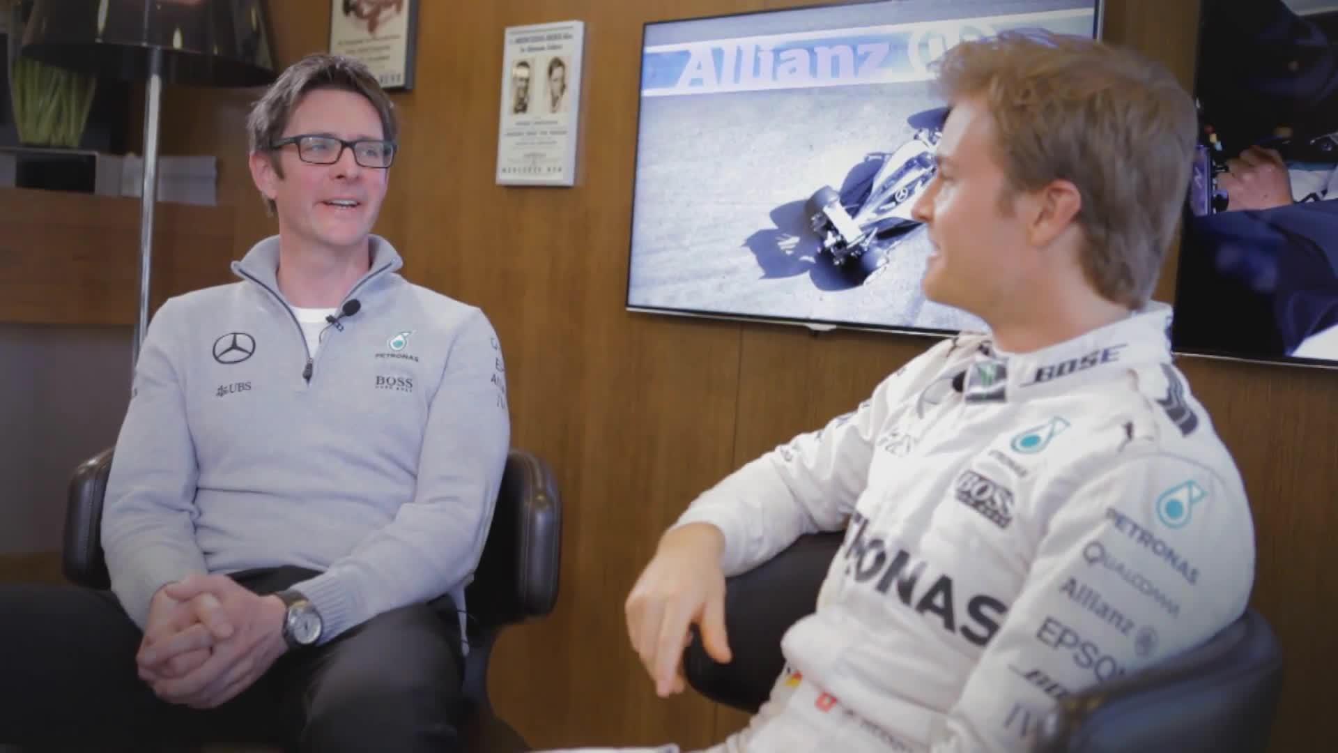 F1 Großen Preis Von Monaco - Nico Rosberg - Risiko Management in Monaco