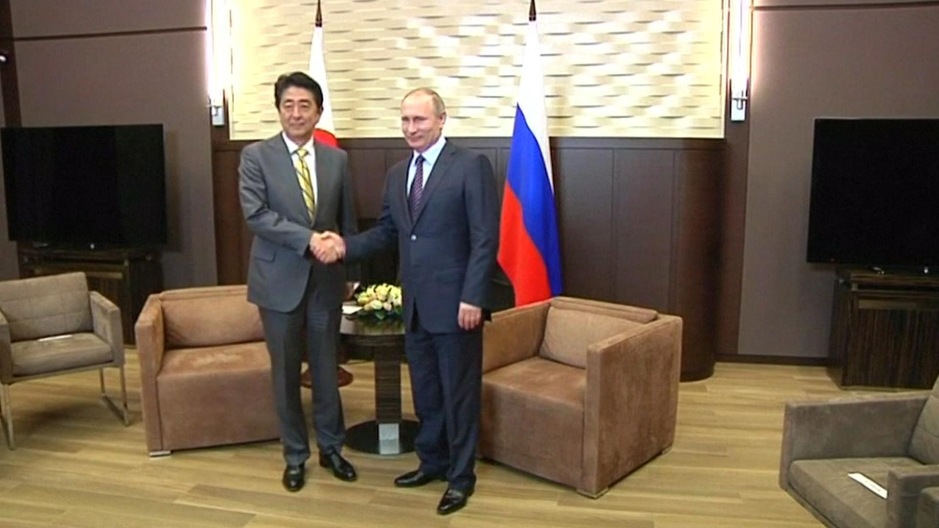 Japan And Russia Hold Talks In Sochi