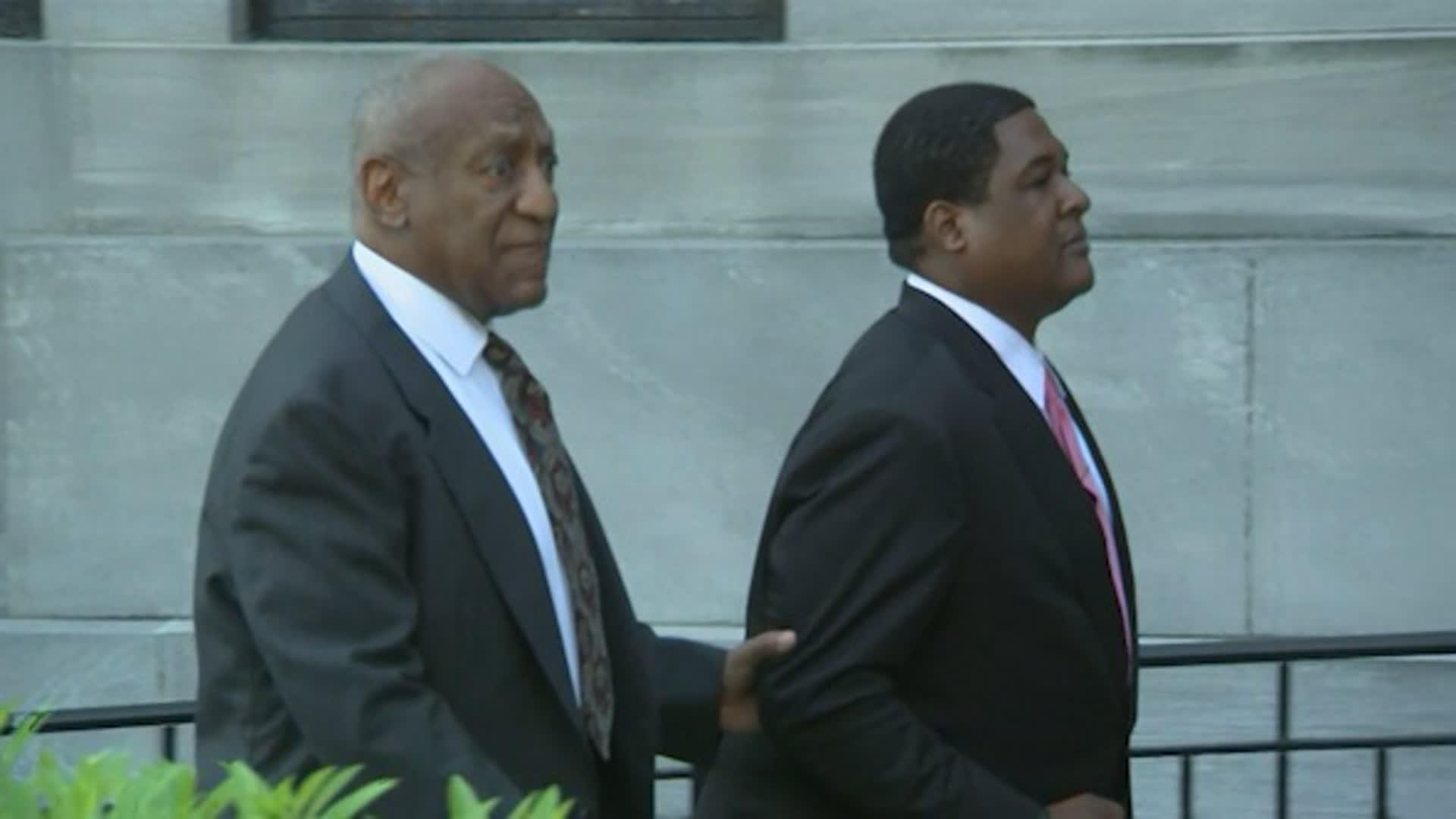Raw: Cosby Arrives At Court for Sex-Assault Case