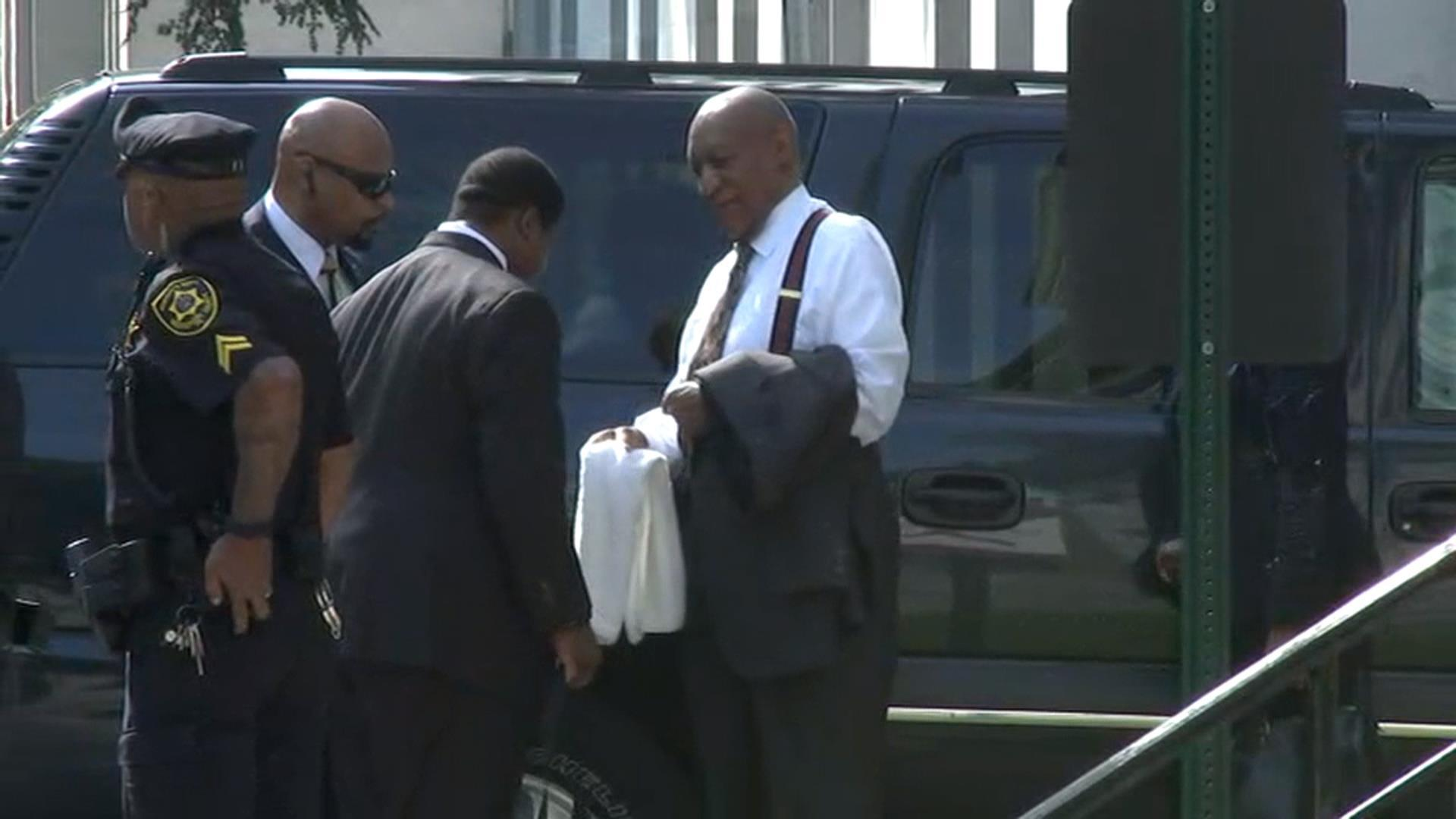 See Bill Cosby Arrive at Court to Face Assault Charges