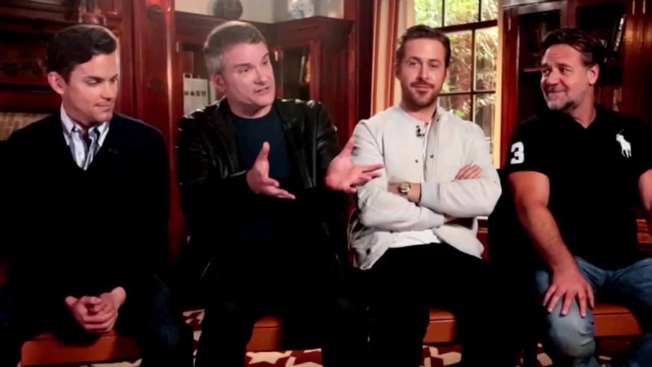 Ryan Gosling: I didn't look Russell Crowe in the eye making 'Nice Guys'