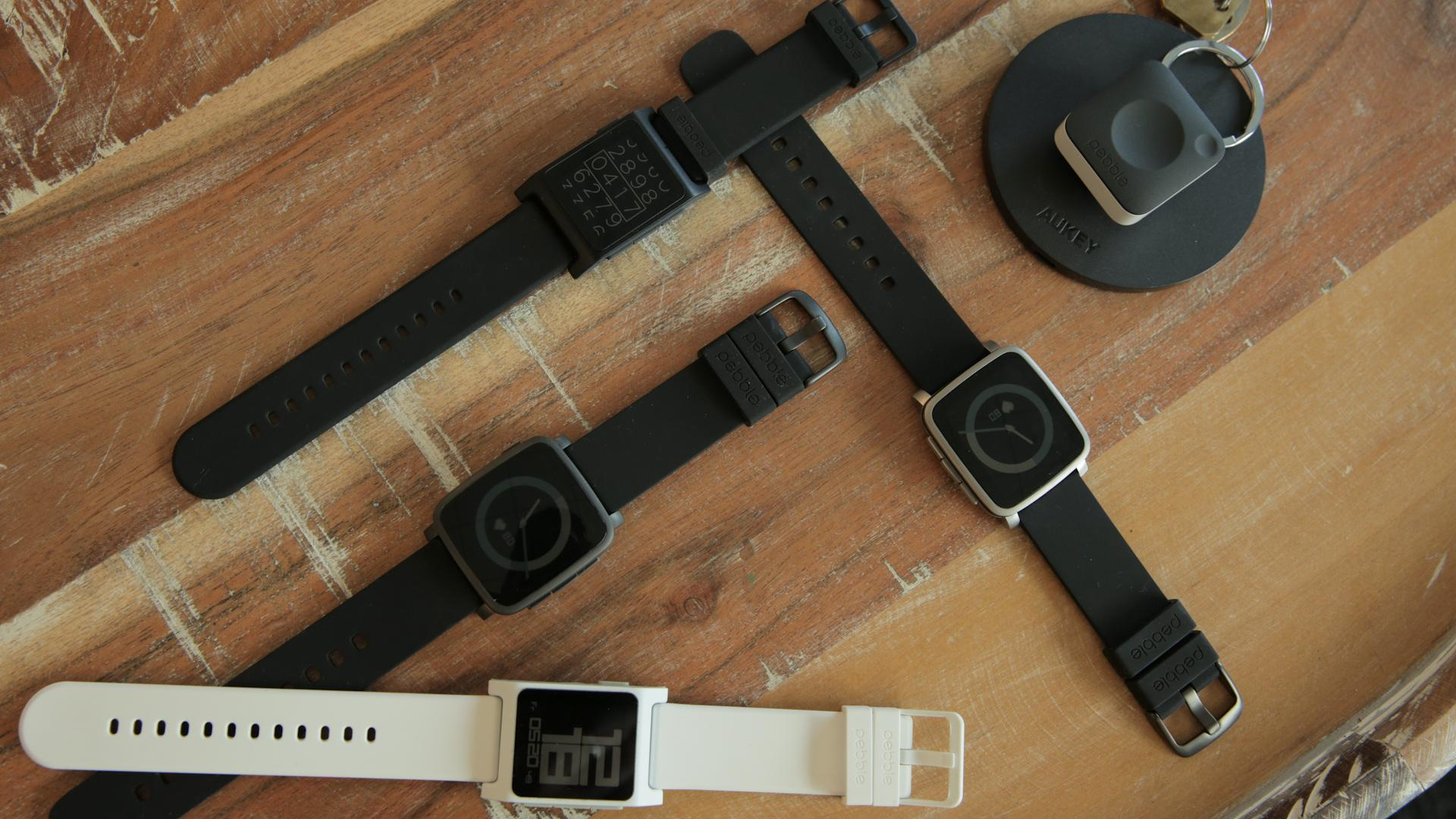Pebble unveils two new smartwatches and a wearable not meant for your wrist