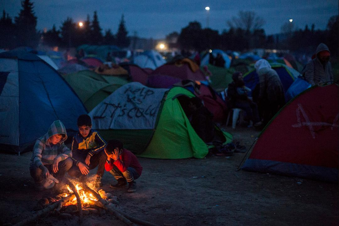 Greece Begins Clearing Migrant Camp