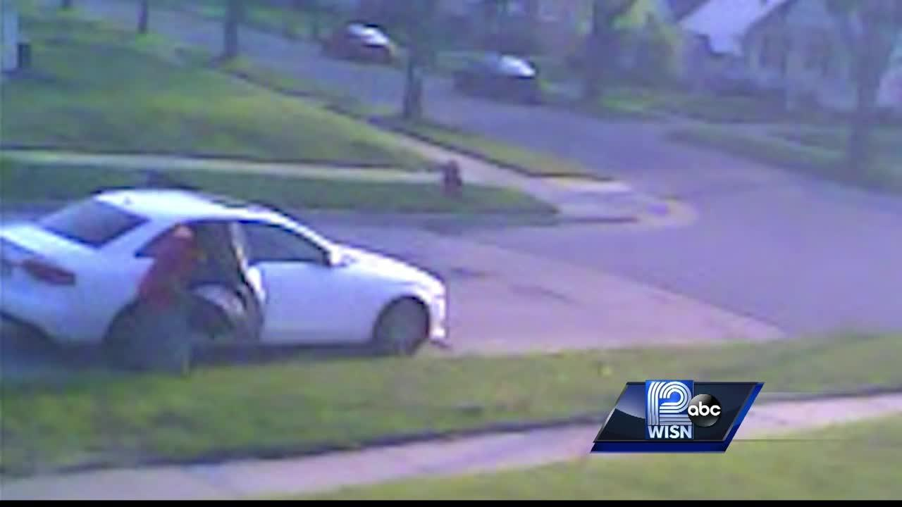 Video shows Milwaukee carjacker removing baby from car
