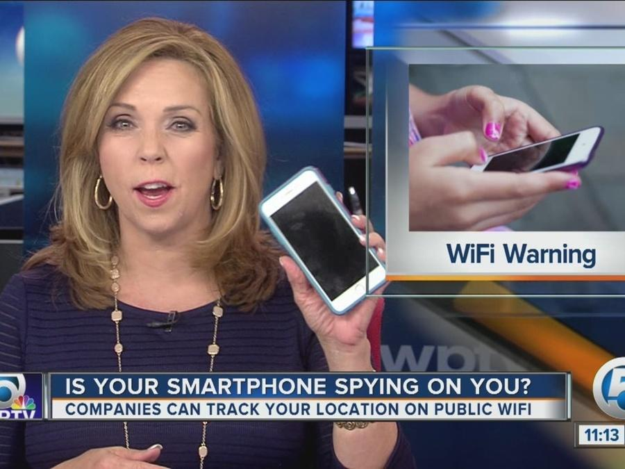 Wi-fi warning: When you connect to public wi-fi companies can track your location, place pop-up ads on your phone