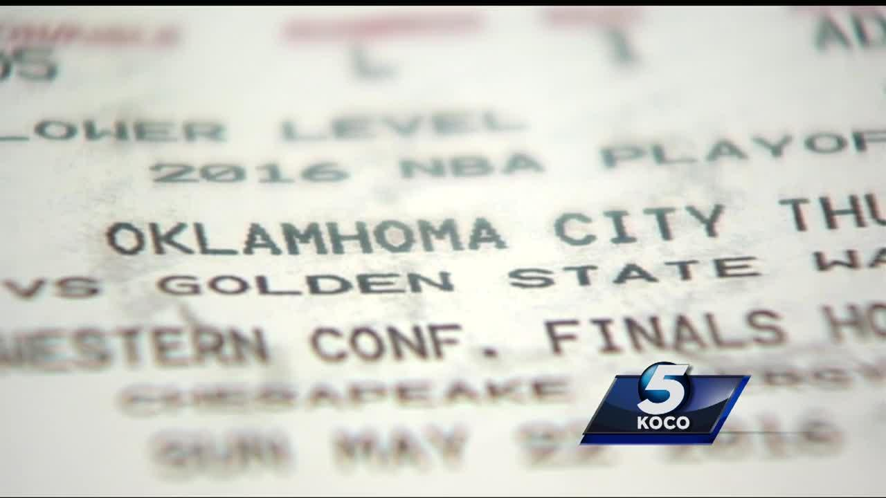 Family out hundreds because of fake Thunder playoff tickets