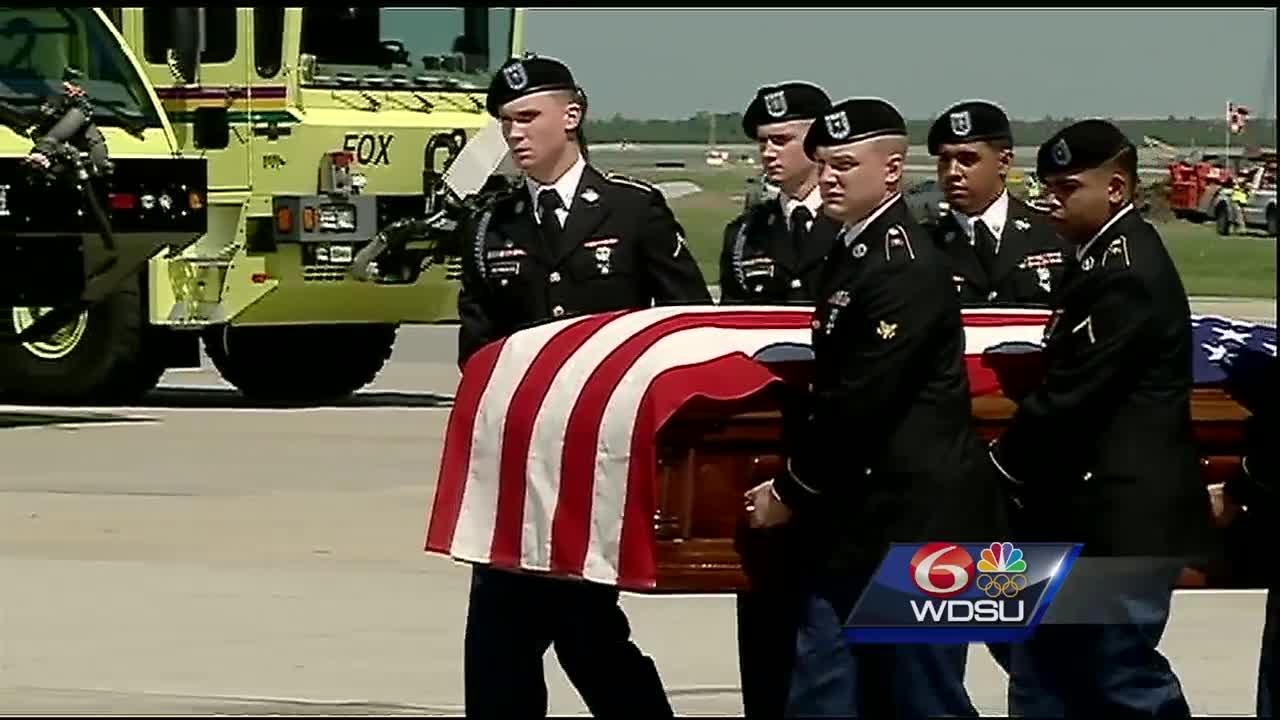 World War II soldier's remains returned home