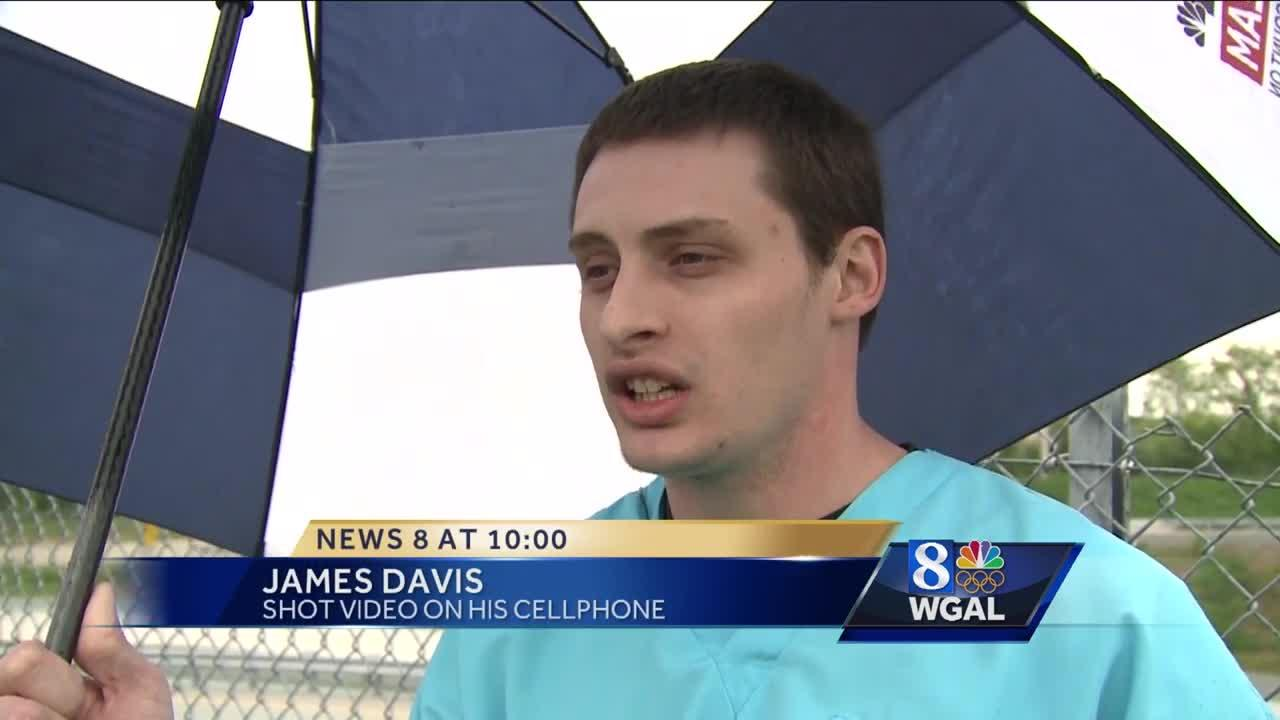 News 8 talks with man who filmed viral police altercation video