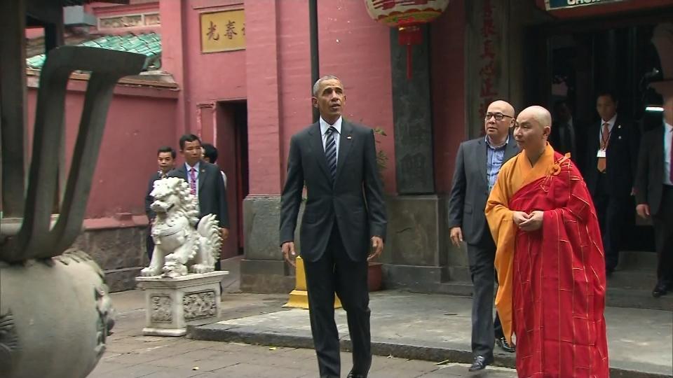 Obama touts TPP to Vietnam