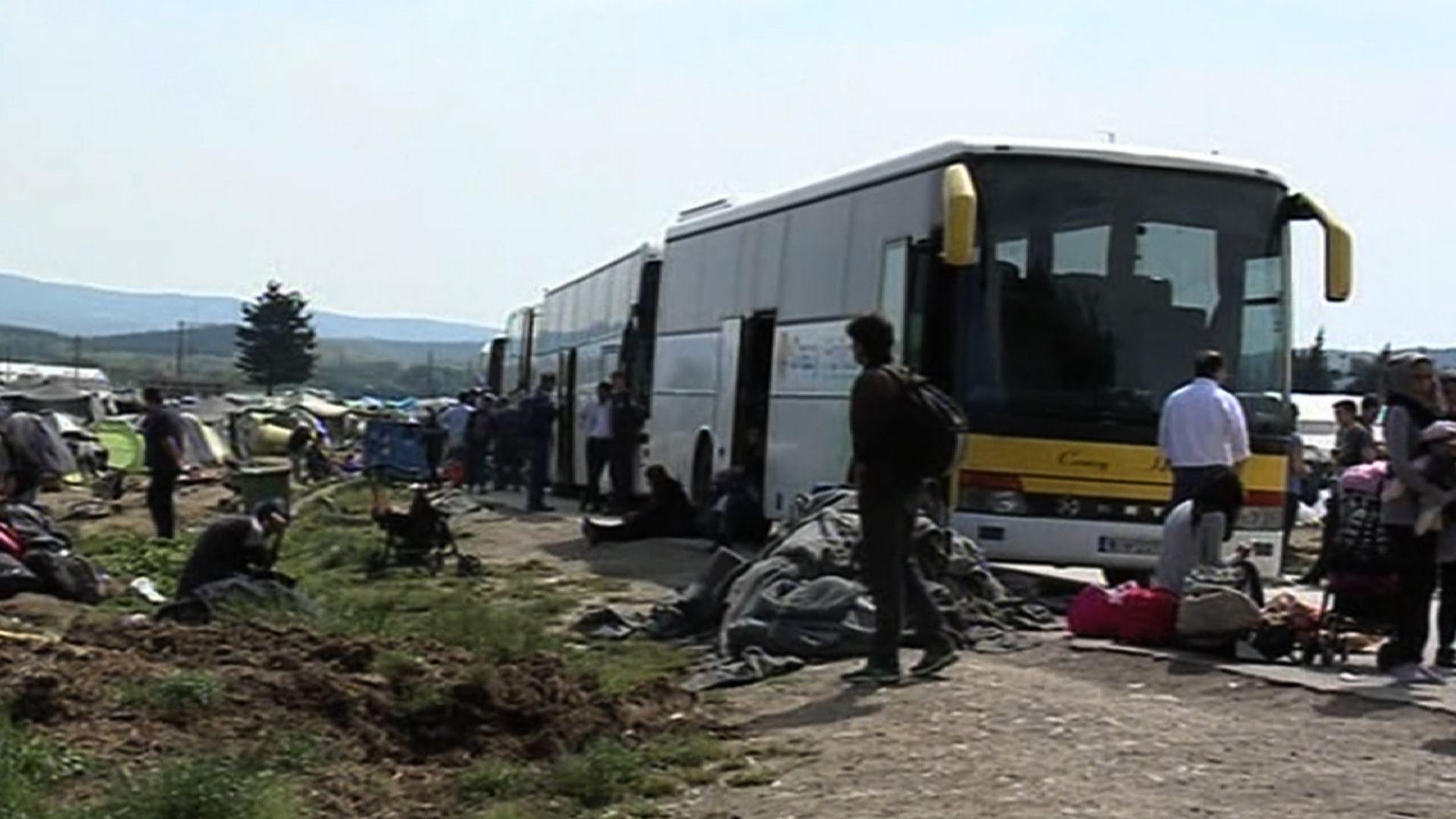 Greece Evacuates Largest Informal Refugee Camp