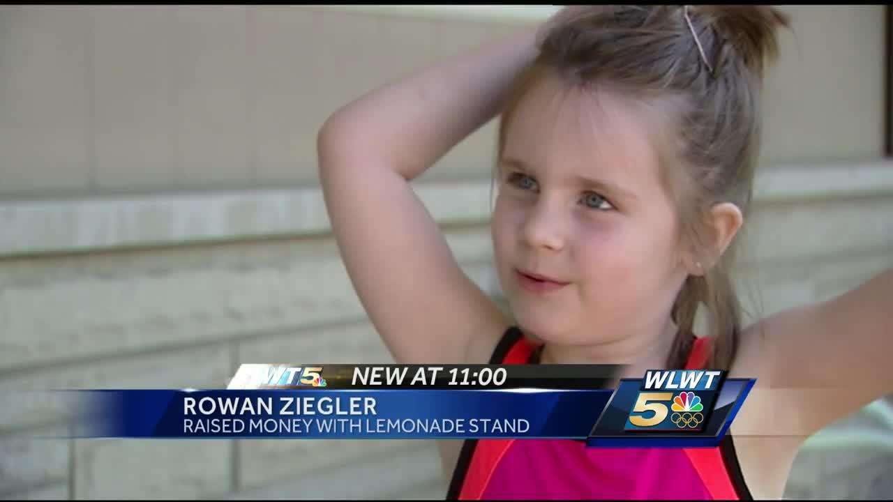 Indiana 5-year-old's lemonade stand raises big money for brother in need