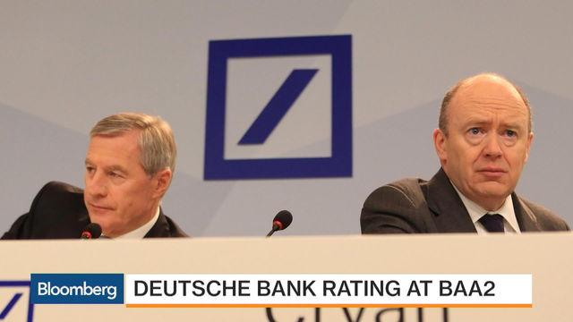 Moody's Peter Nerby on Deutsche Bank Rating Cut