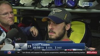 Blues' Robby Fabbri is short on answers