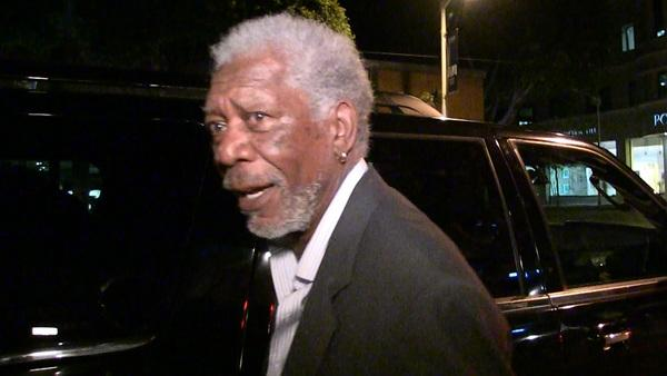 Morgan Freeman -- Yes, I Know the First Lady ... But I Don't KNOW Her
