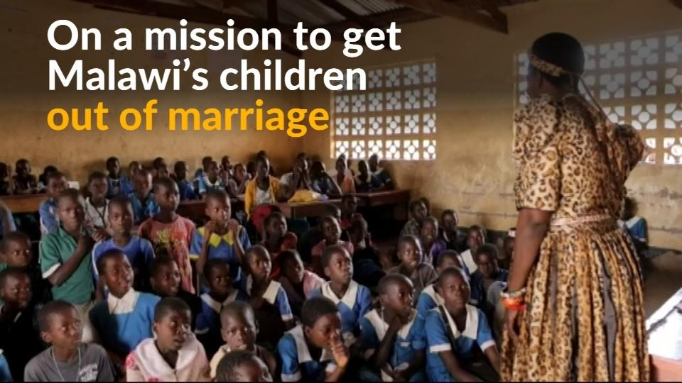 Breaking traditional child marriages in Malawi