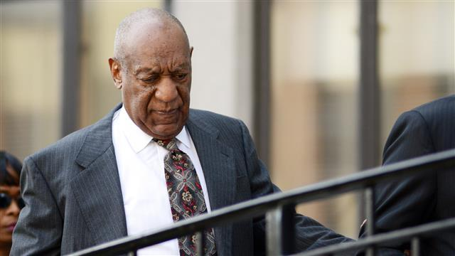 Cosby Arrives for Sexual Assault Pre-Trial