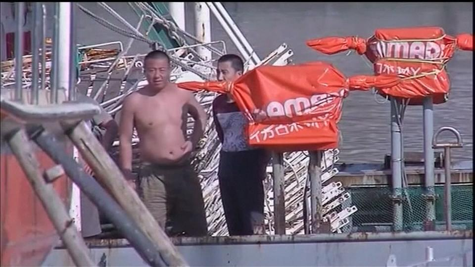 Chinese fishermen detained in South African