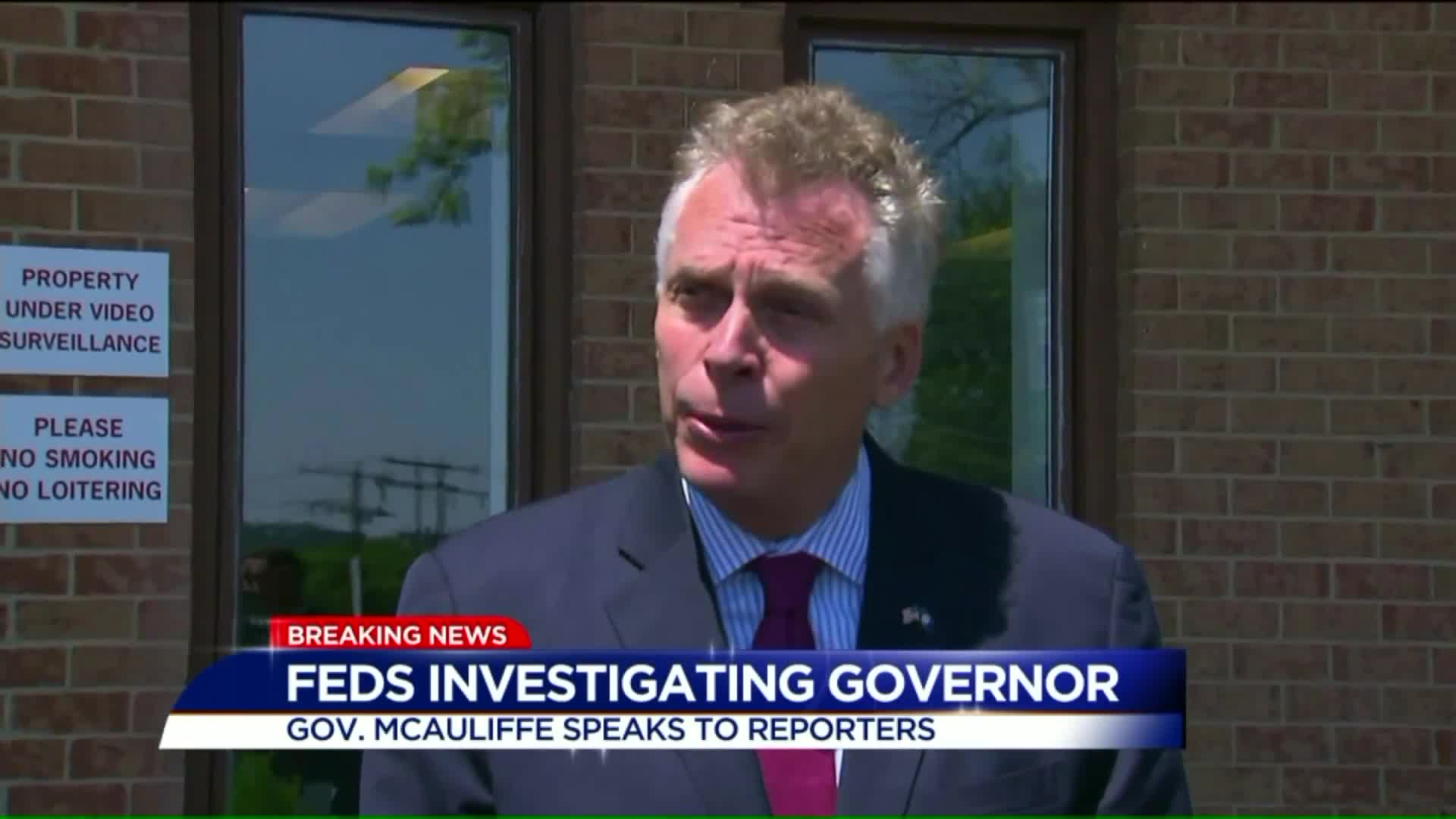 Virginia Gov. Speaks Out Amid Federal Investigation