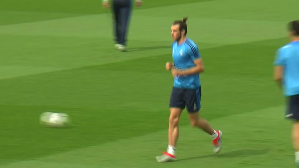 Bale previews Champions League final against arch rivals Atletico Madrid