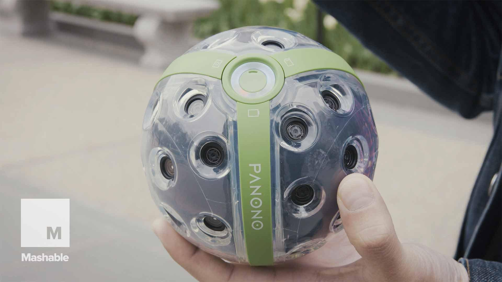 This 360 camera ball has its ups and downs