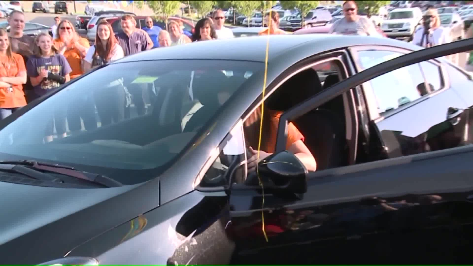Students' Good Grades, Attendance Rewarded With New Cars
