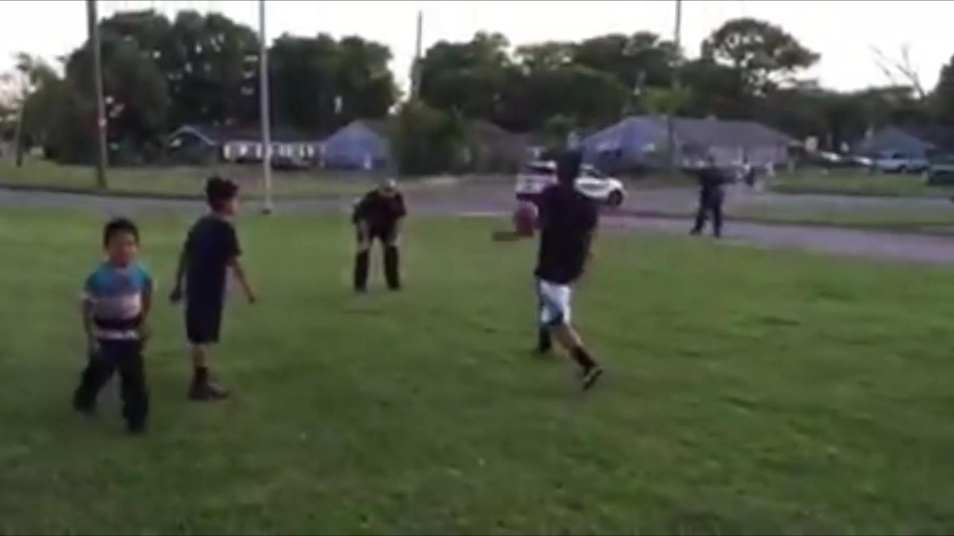 Cops Called to Stop Kids' Soccer Game Join In Instead
