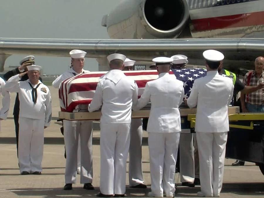 Man killed in action at Pearl Harbor returns home