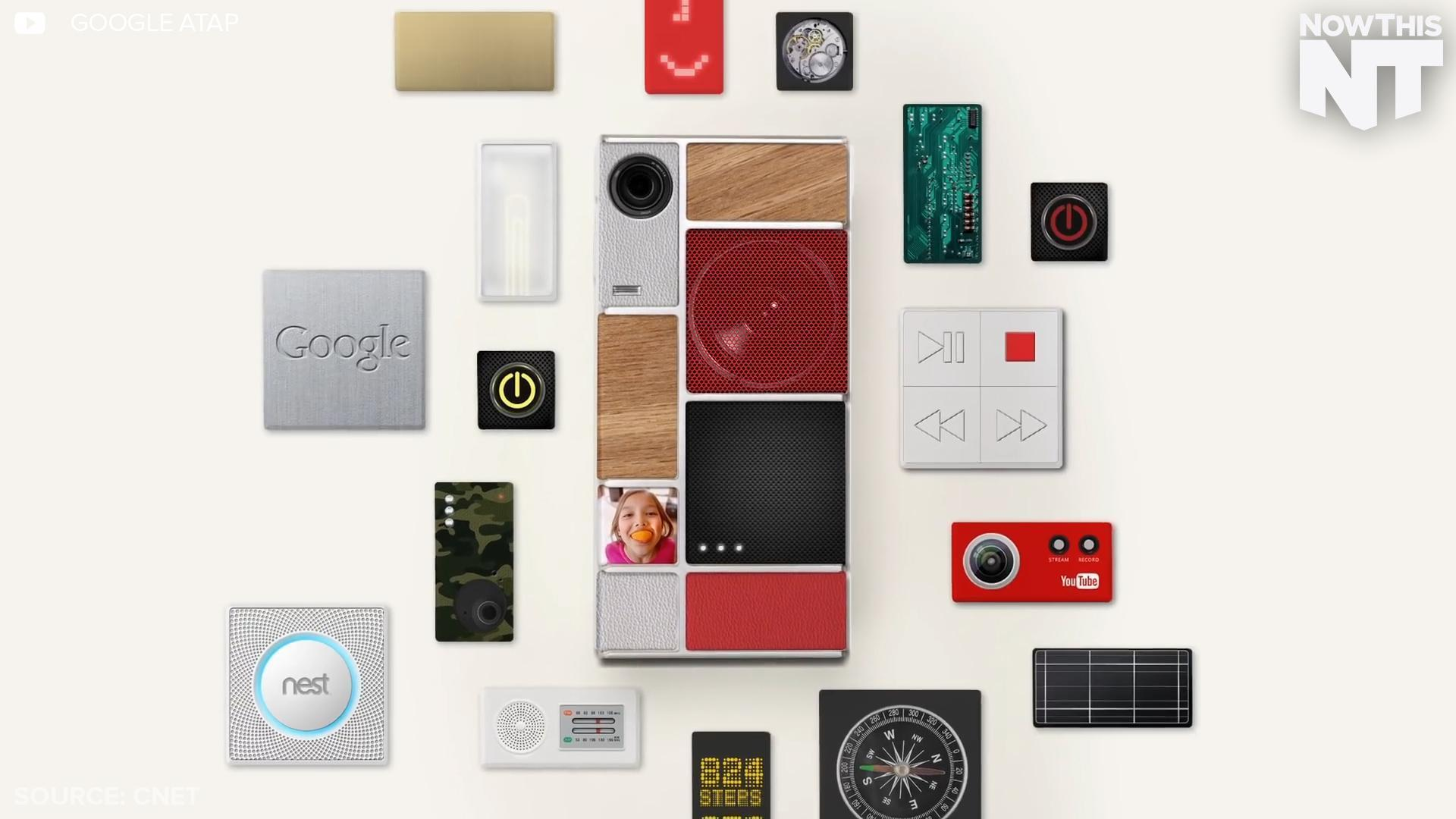 Google's New Modular Phones Lets You Customize Hardware