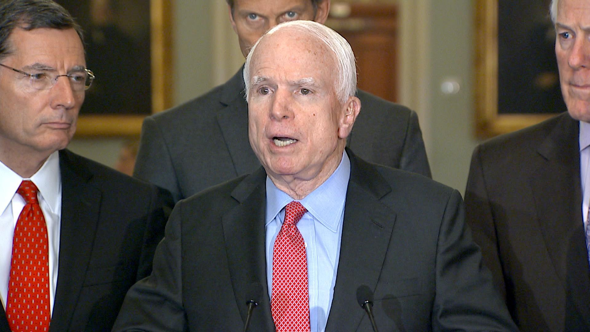 McCain, Reid Exchange Tough Words Over Defense Bill