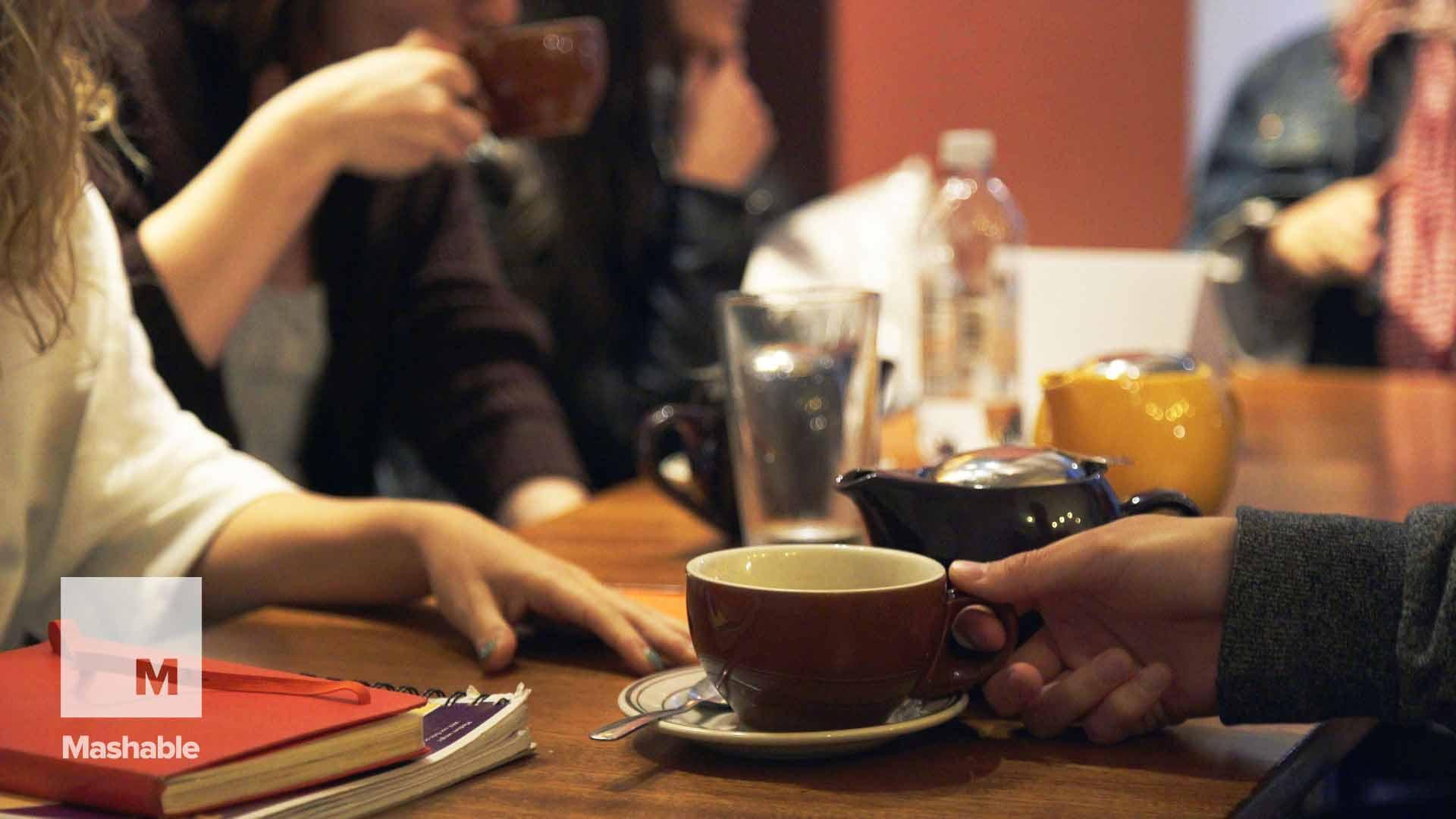 Want to meet new people in a big city? 'Tea With Strangers' could be your ticket.