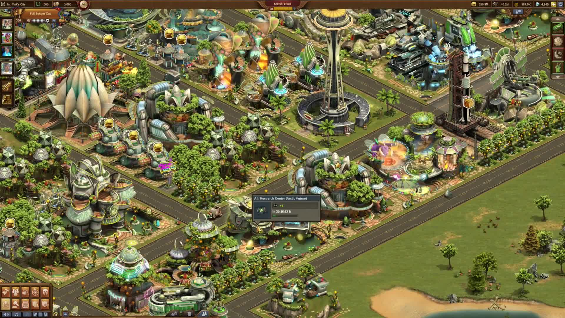 Introducing The Arctic Future in Forge of Empires