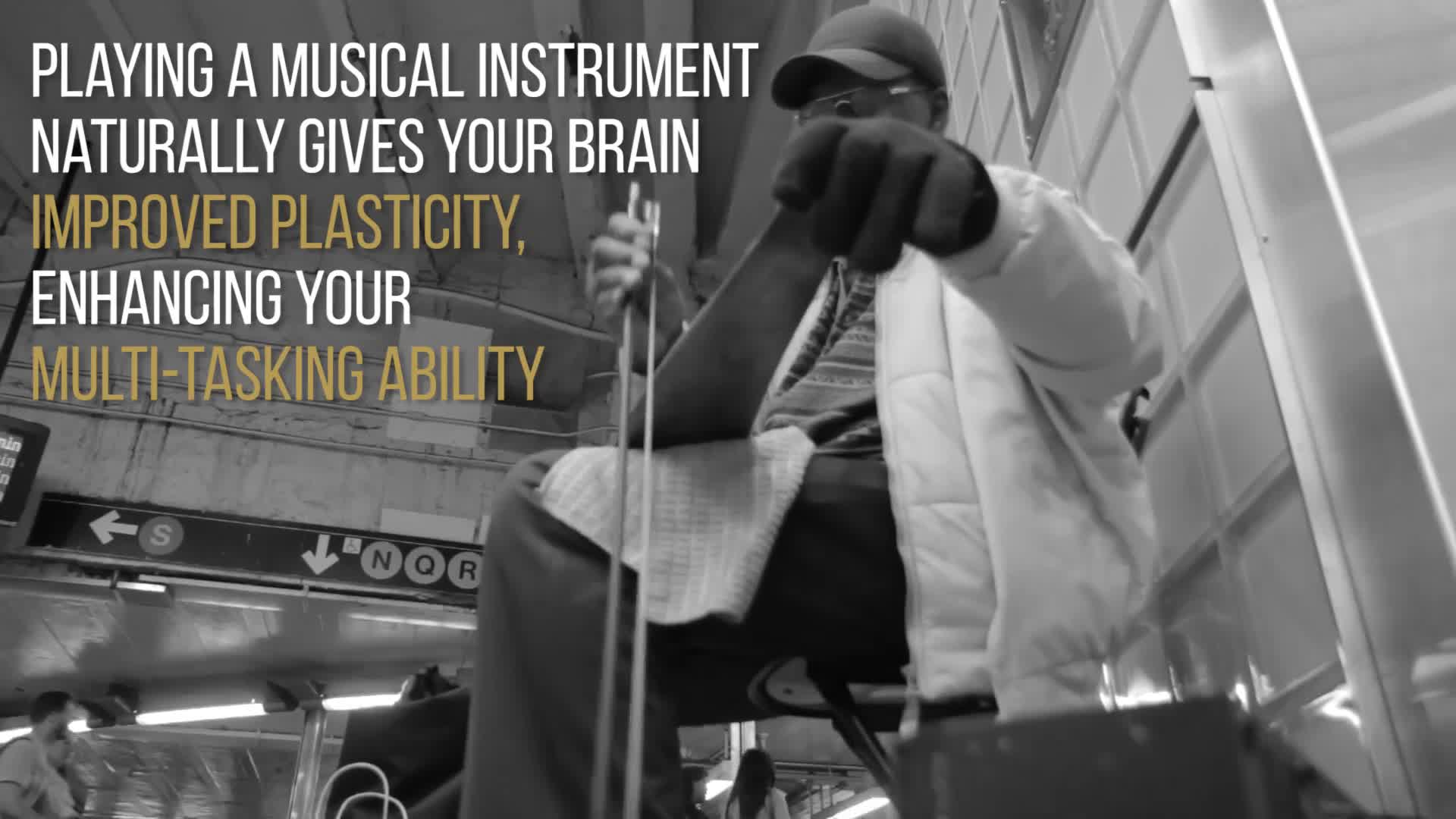 Benefits of playing an instrument for your brain