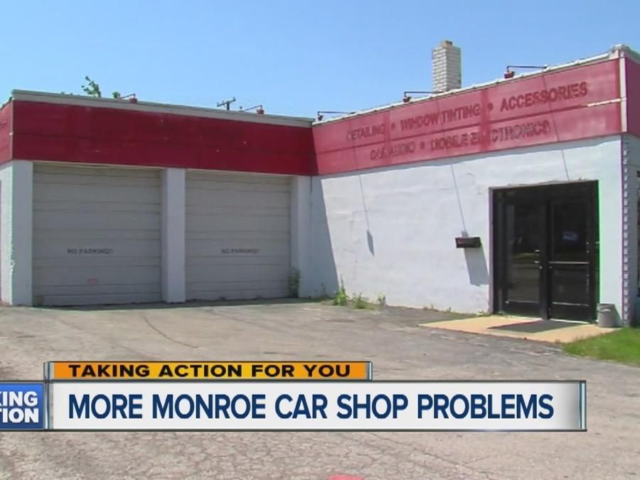 More Monroe car shop problems
