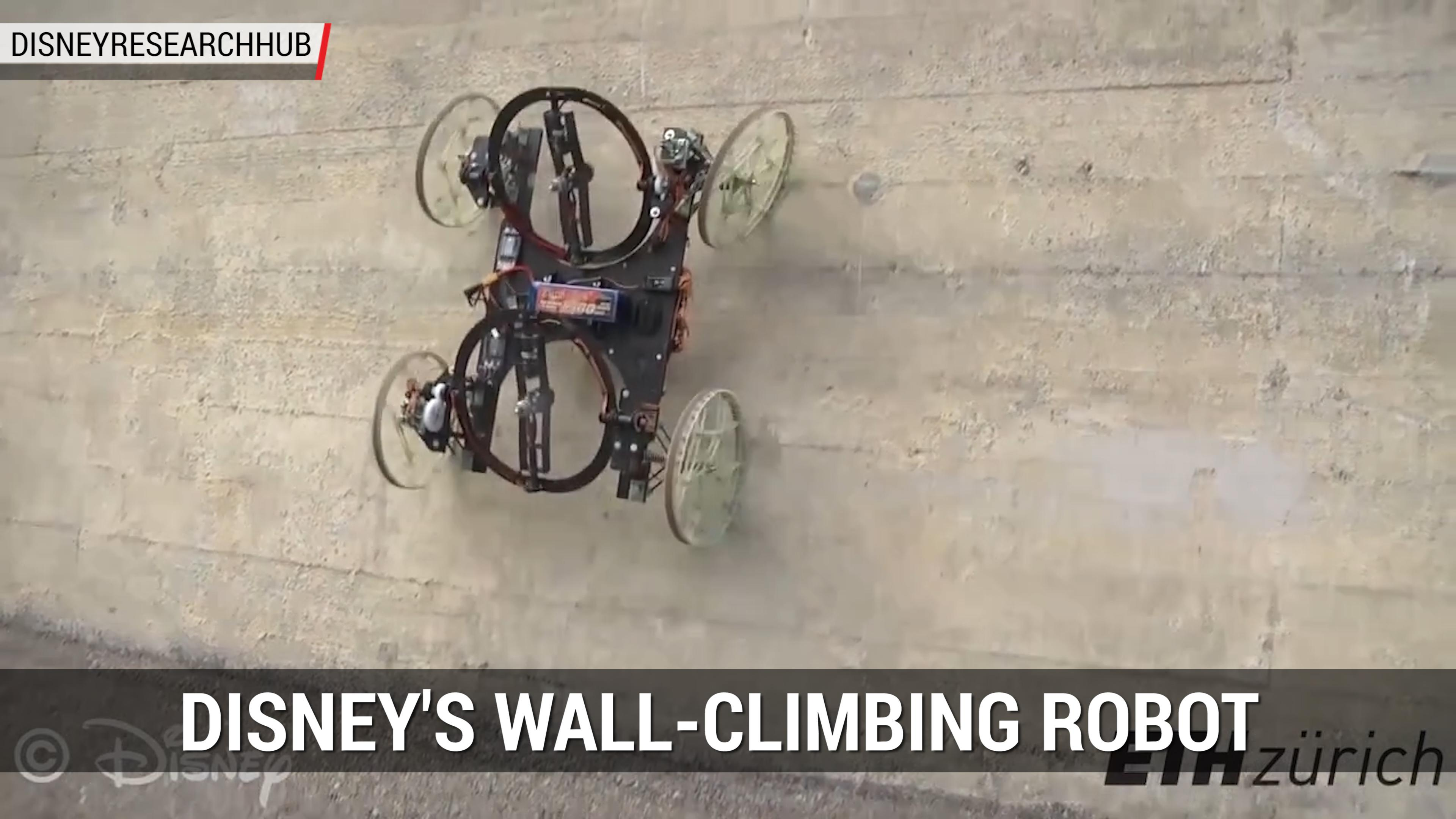 Disney's Wall-Climbing Robot VertiGo | Autoblog Minute