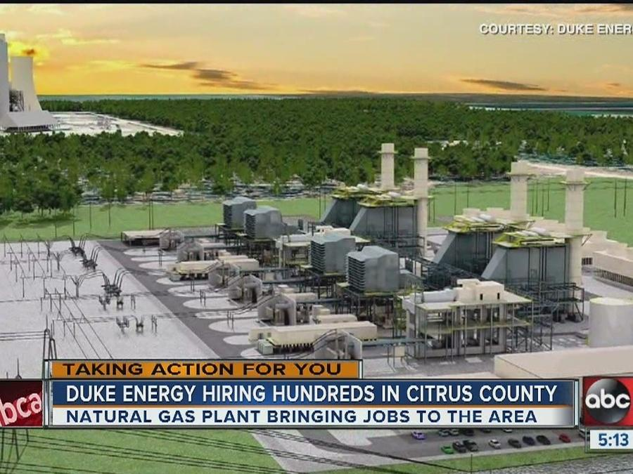 Hiring underway for new Citrus County natural gas plant