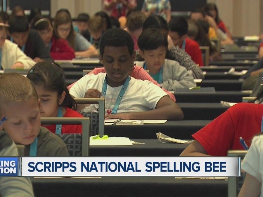 Scripps spelling bee gets underway