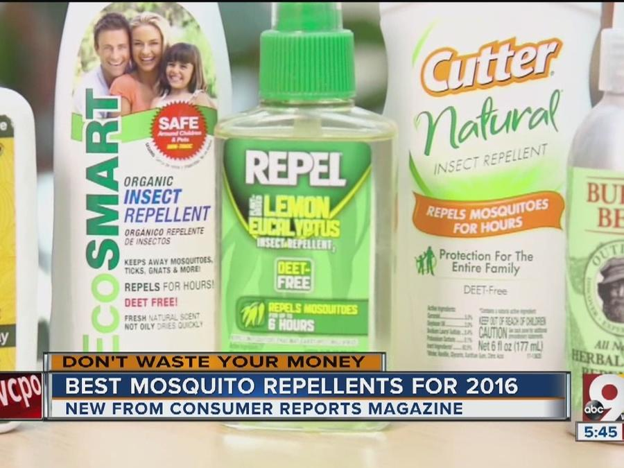 The best mosquito repellents for 2016