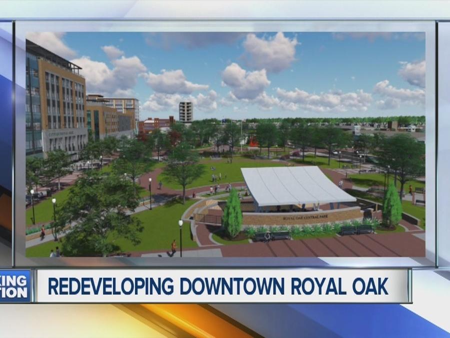 Meeting on Royal Oak redevelopment plan