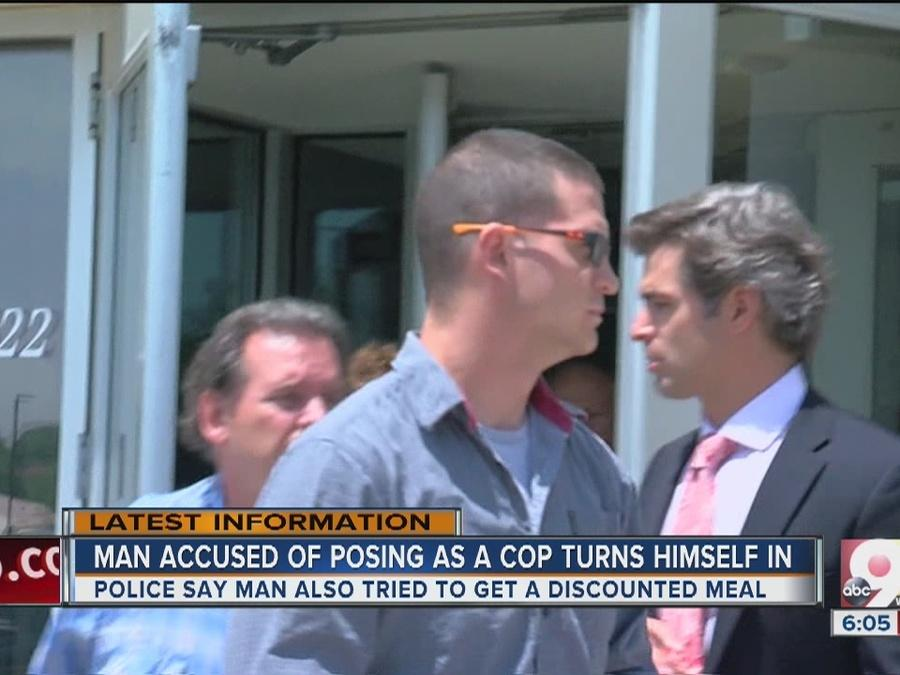 Man charged with impersonating officer fooled restaurant manager but not real cops eating there