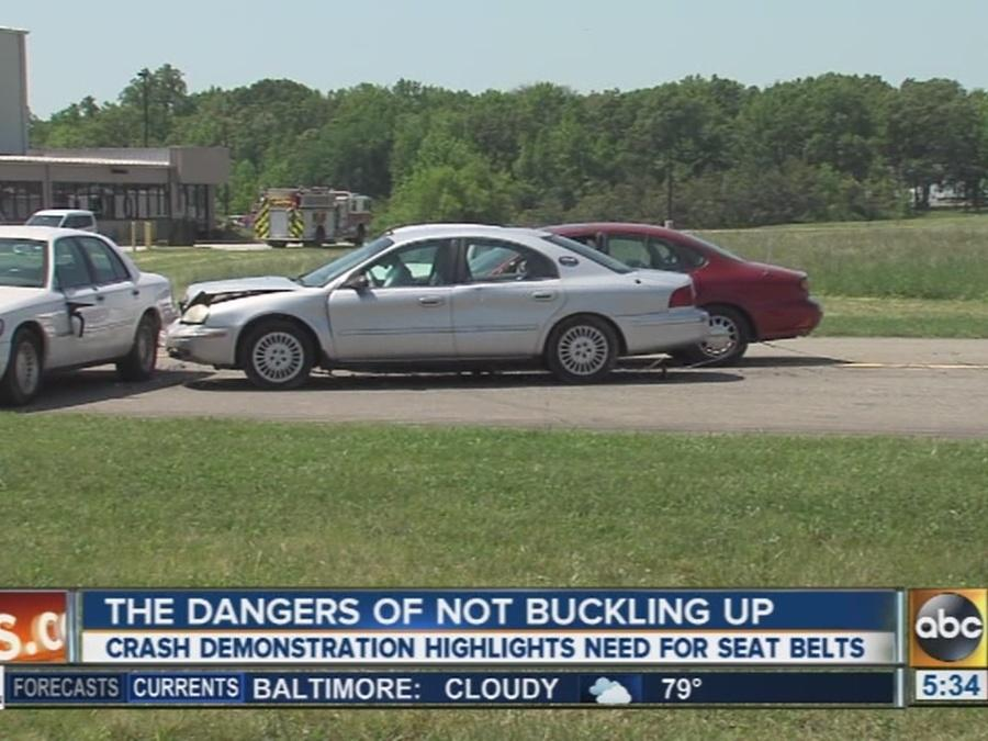 The cost of not buckling up