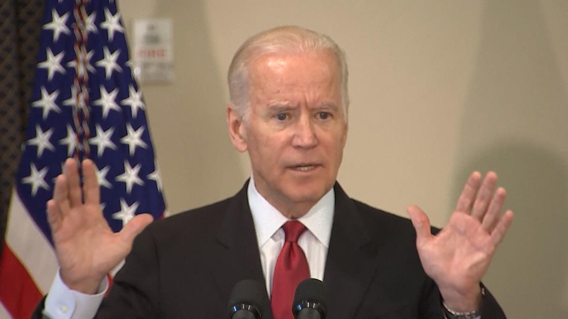 Biden: 'Don't quit' on reducing gun violence
