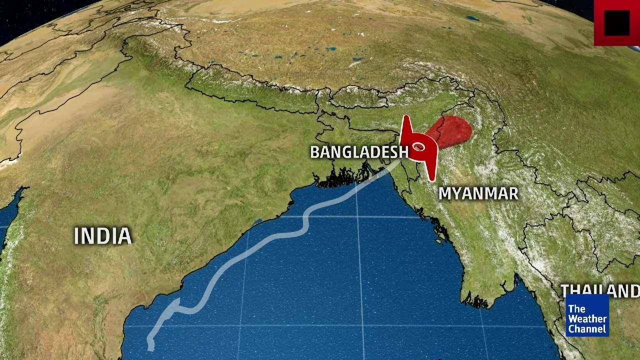 Jade Mine Collapsed from Landslide in Myanmar