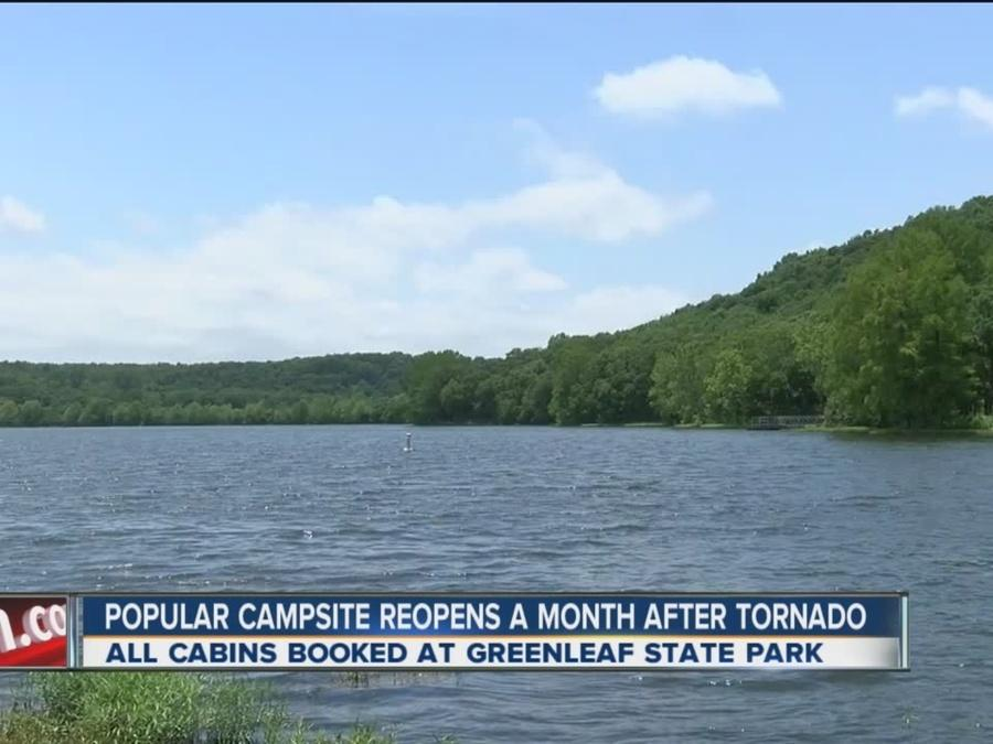 Greenleaf Park opens in time for Memorial Day