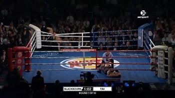 Pro boxer celebrates a little early, takes embarrassing tumble